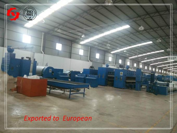 2m Geotextile Production Line For Polypropylene Non Woven Fabric Making 5