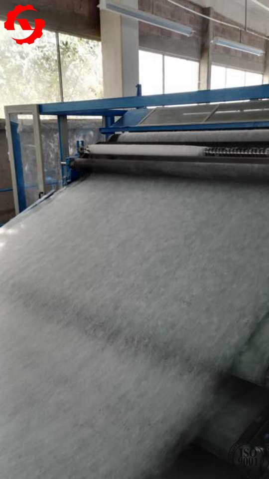 3.5m Hard Polyester Wadding Production Line For Thermo Bonding