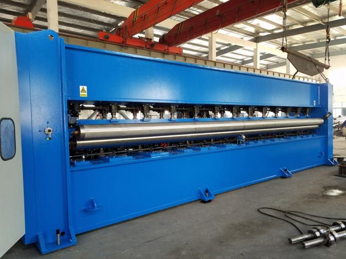 High Speed Felt Making Machine , Geotextile Production Line With Low Consumption