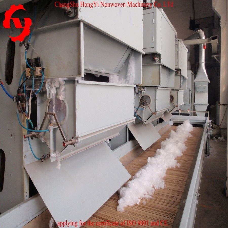 1300 Electrical Weighing Bale Opener Machine For PU Leather Substrate Making CE / ISO9001