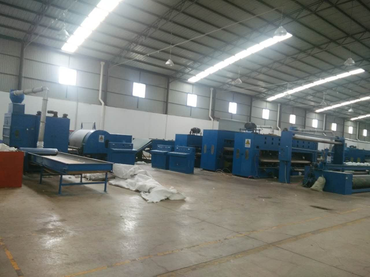 Full Automatic Spunlace Non Woven Fabric Machine With Product Width 5000mm