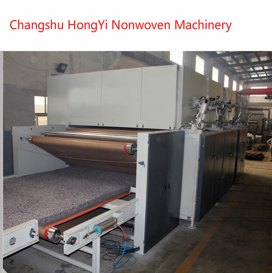 Nonwoven Thermal Bond Wadding Felt Making Machine For Filter Material 60-1500g/M2