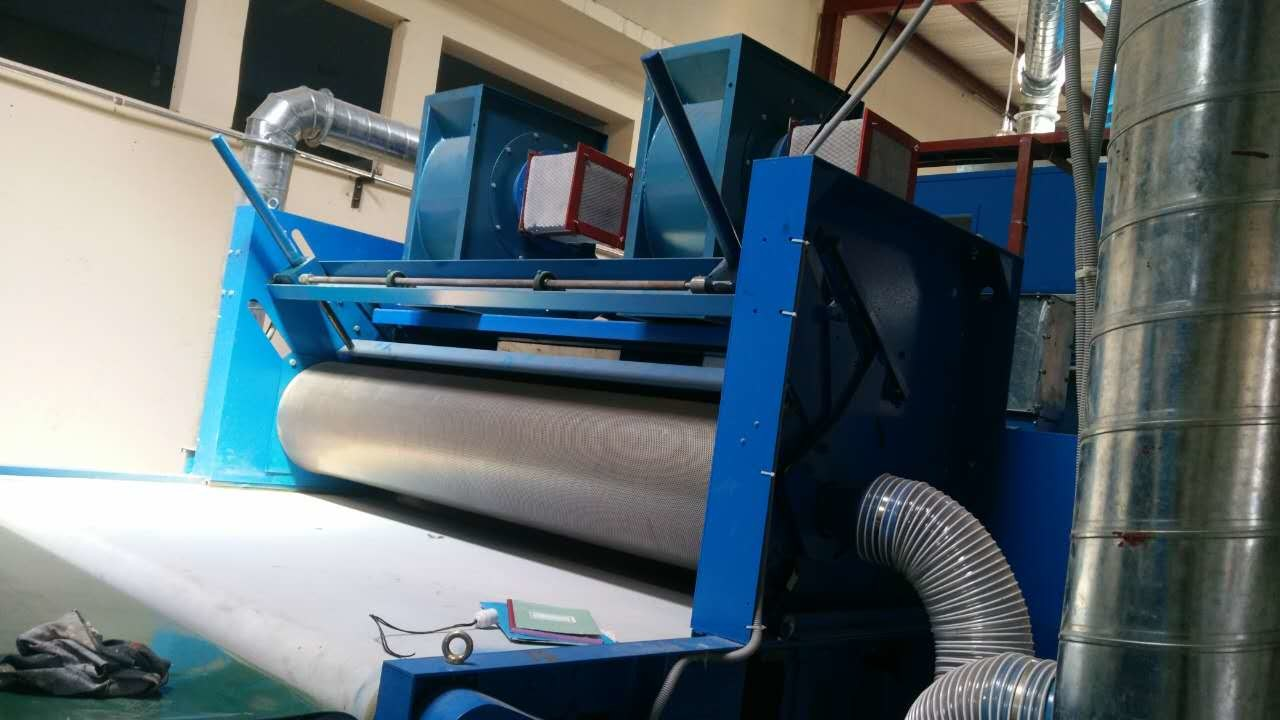 Airlaid Nonwoven Carding Machine Centralised Working Parameter Control System