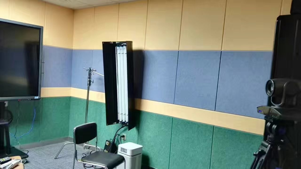 40% Low Melt Fiber Polyester Acoustic Wall Panels Fireproof Acoustic ...