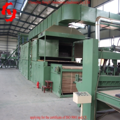 Non Woven Polyester Felt Making Machine / 4000mm Non Woven Fabric Production Line