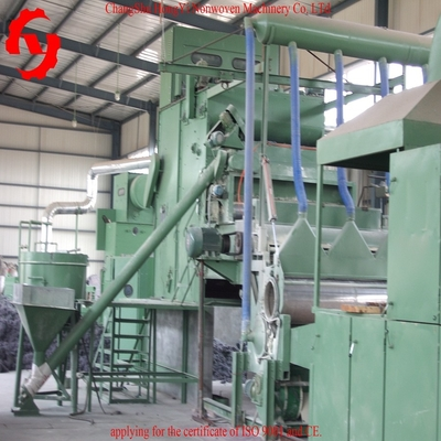China 5.5 M Nonwoven Waste Felt Making Machine With CE / ISO9001 Certificate factory