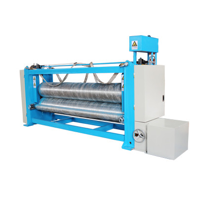 Automatic 3m Textile Fabric Calender Machine , Heat Pressed Fabric Finishing Machine