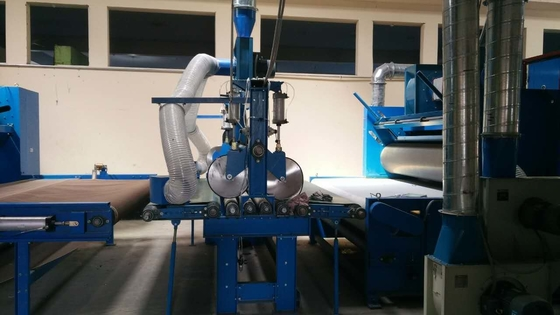 ISO 9001 Electric Textile Carding Machine Adjustable 2000 mm - 2500 mm Width