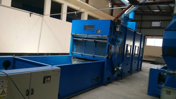 High Production Capacity Vibrating Hopper Feeder For Polyester , Viscose , Nylon