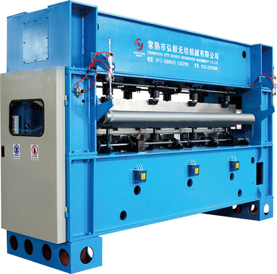 Three Roller 3.5m Fabric Calender Machine , Textile Rolling Machine For Nonwoven