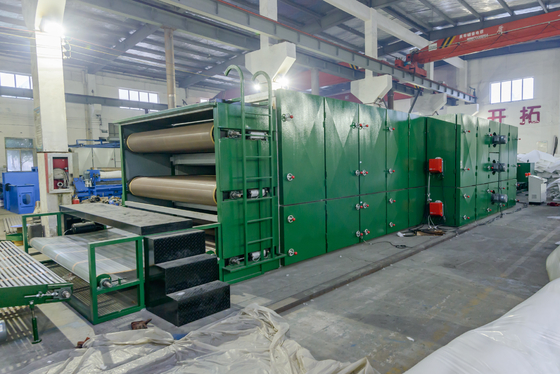 Coconut Palm Fiber Mattress Drying Oven Machine / Non Woven Fabric Production Line