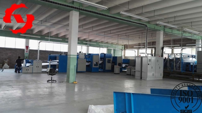 2m Geotextile Production Line For Polypropylene Non Woven Fabric Making 1